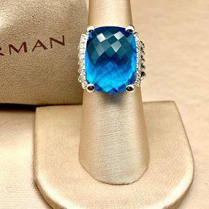 David Yurman Wheaton 20x15mm Ring